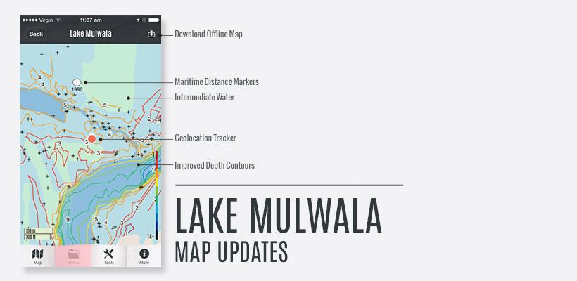 Lake Mulwala Fishing Map Updates