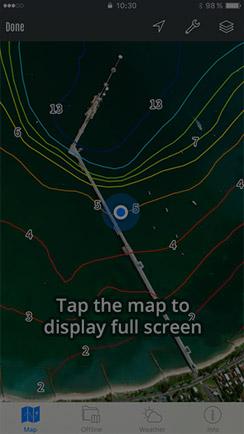 Display fullscreen