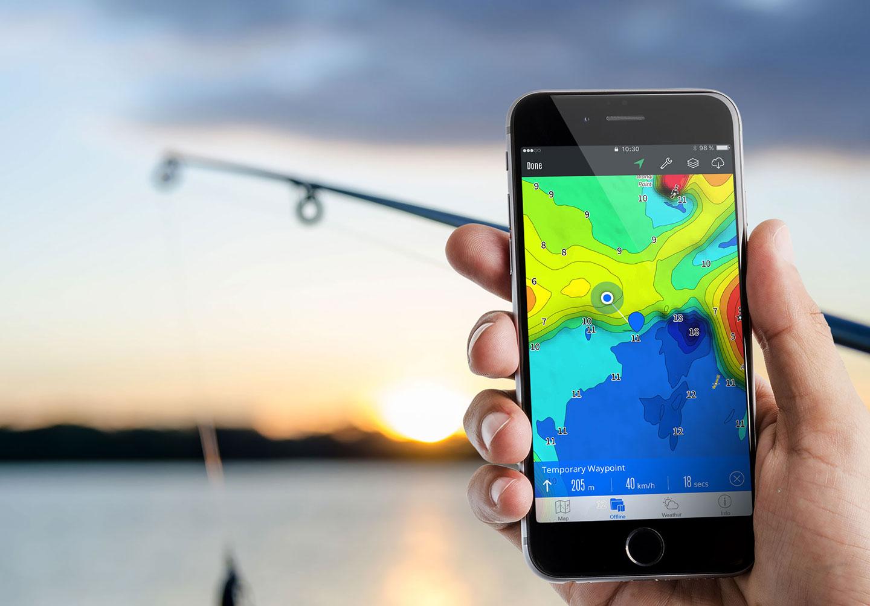 Charted Waters Australian Fishing Maps
