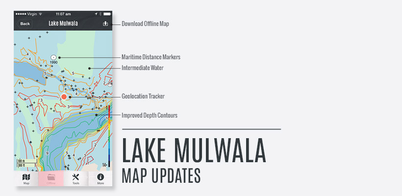 Lake Mulwala Fishing Map Updates