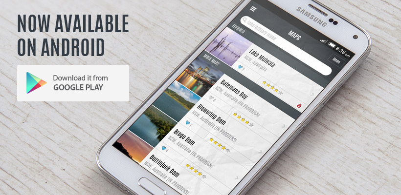 Charted Waters Android App Release