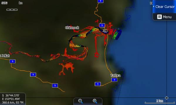 Bega River, Tathra Screenshot 1