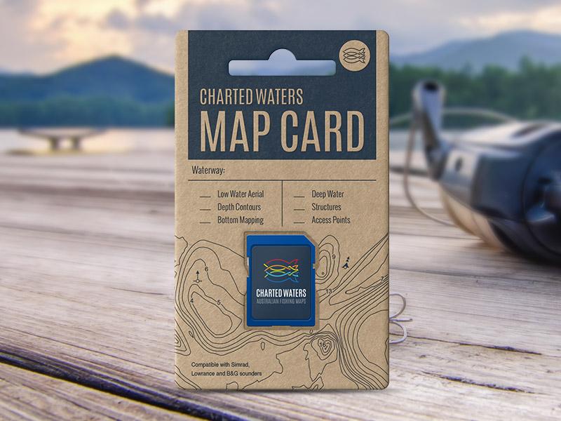 Gippsland Lakes Map Card