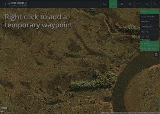 Add a temporary waypoint